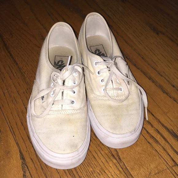 26566aa538 Dirty Vans Poshmark Vans Shoes Shoes White R8vqUgRwn